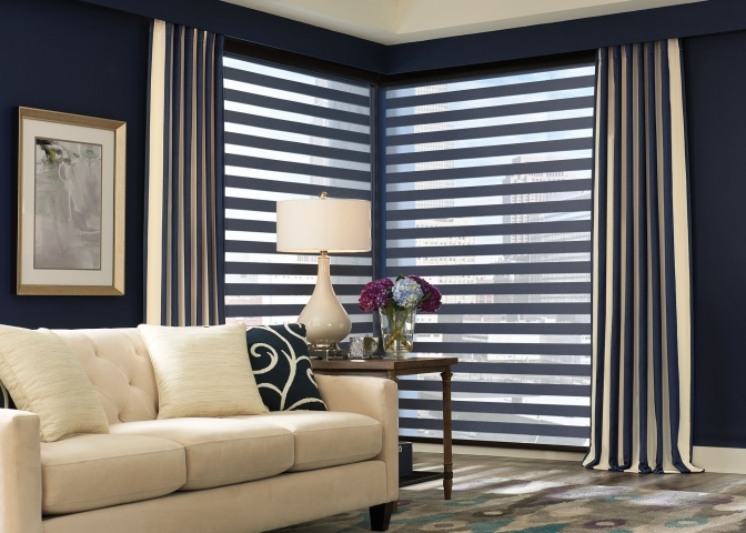 Layered Living Room blind